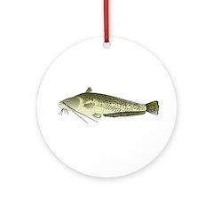 Wels catfish Ornament (Round)
