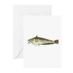 Wels catfish Greeting Cards (Pk of 10)