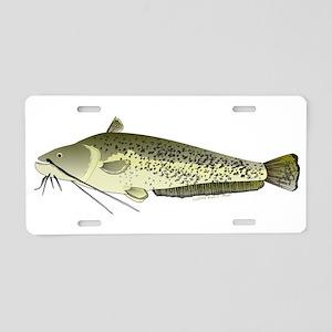 Wels catfish Aluminum License Plate