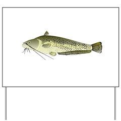 Wels catfish Yard Sign