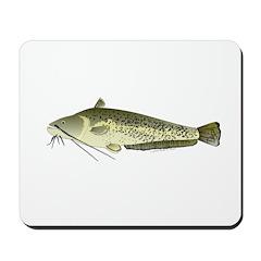 Wels catfish Mousepad