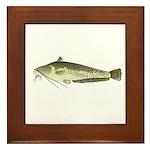 Wels catfish Framed Tile