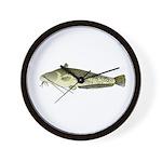 Wels catfish Wall Clock