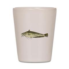 Wels Catfish c Shot Glass