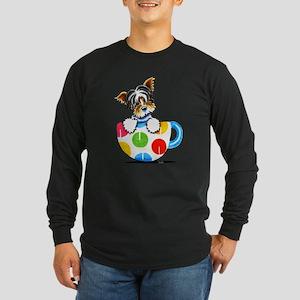 Biewer Yorkie Cup Long Sleeve T-Shirt