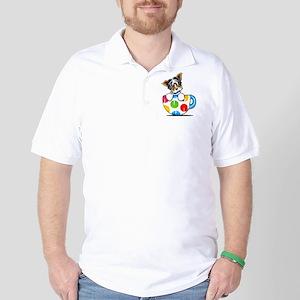 Biewer Yorkie Cup Golf Shirt
