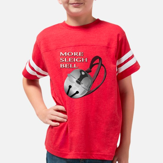 FIN-more-sleigh-bell Youth Football Shirt