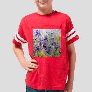 Romantic Ruffles Bathroom Youth Football Shirt