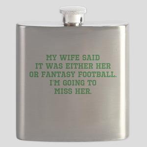 Fantasy Football Casualty Flask