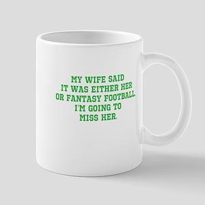 Fantasy Football Casualty Mug
