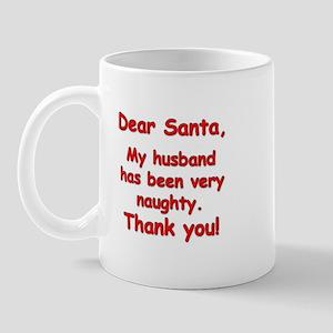 """""""Naughty Husband"""" Mug"""