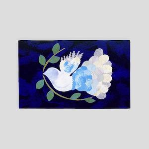 Peace Spirit Dove 3'x5' Area Rug