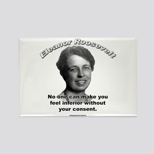 Eleanor Roosevelt 01 Rectangle Magnet