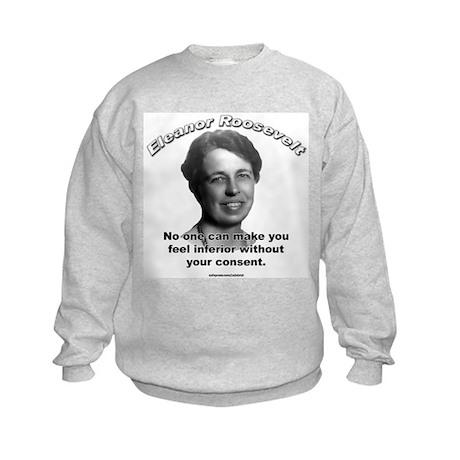 Eleanor Roosevelt 01 Kids Sweatshirt