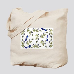 vines of blueberries Tote Bag