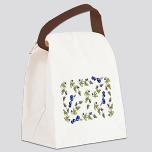 vines of blueberries Canvas Lunch Bag