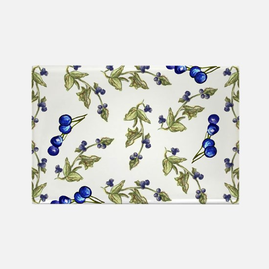 vines of blueberries Rectangle Magnet (10 pack)