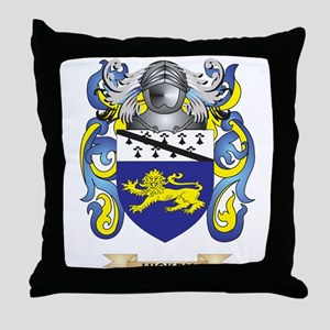 Hickey Coat of Arms (Family Crest) Throw Pillow