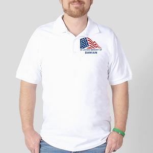 Loving Memory of Damian Golf Shirt