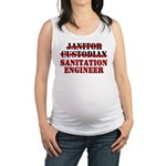 great aunt Maternity Tank Top