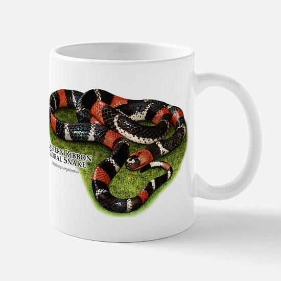 Eastern Ribbon Coral Snake Mug