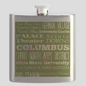 Columbus Ohio Flask