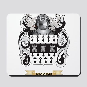 Higgins Coat of Arms (Family Crest) Mousepad