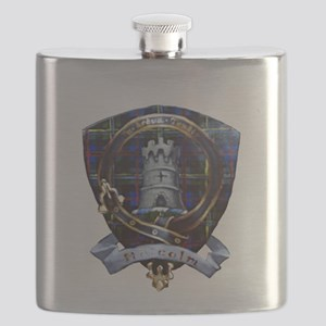 Clan Malcolm Crest Flask