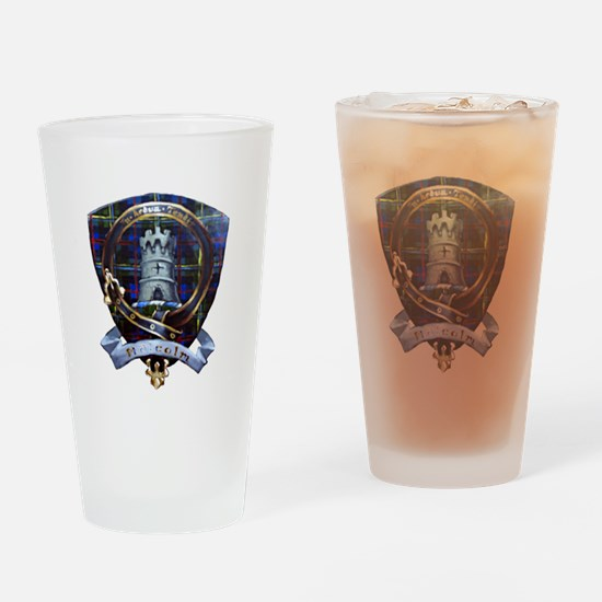 Clan Malcolm Crest Drinking Glass
