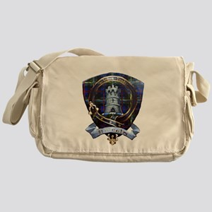 Clan Malcolm Crest Messenger Bag