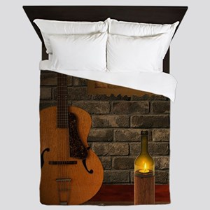 Blues Review Queen Duvet