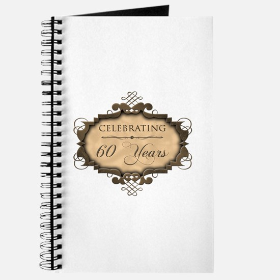 60th Wedding Aniversary (Rustic) Journal