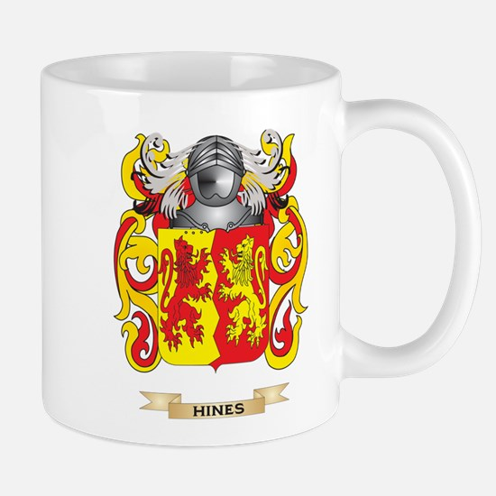 Hines Coat of Arms (Family Crest) Mug