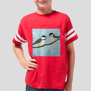 chickadees-squ Youth Football Shirt