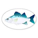 White Perch Sticker