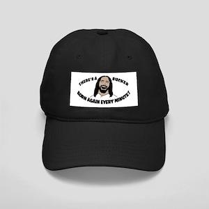 Sucker Born Again Hat (Black Cap)