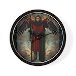 Angel : Michael : Wall Clock