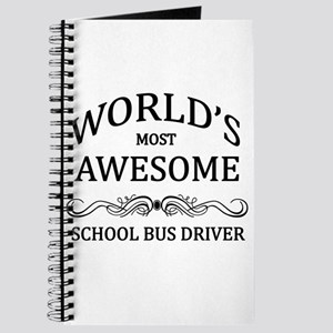 World's Most Awesome School Bus Driver Journal