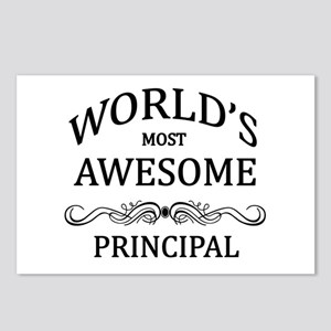 World's Most Awesome Principal Postcards (Package