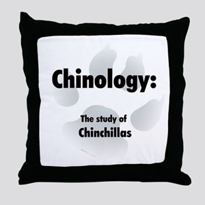 Chinology Throw Pillow