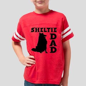SHELTIE DAD Youth Football Shirt