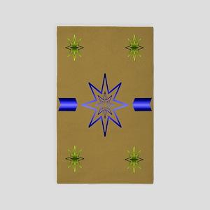 Awakening Star Khaki 3'x5' Area Rug