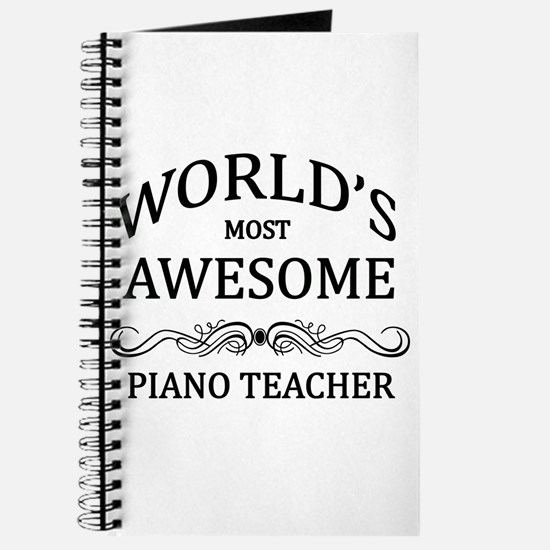 World's Most Awesome Piano Teacher Journal