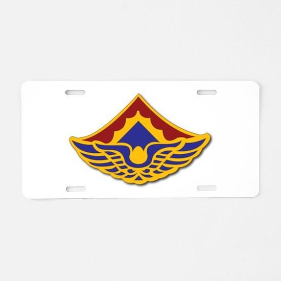 Army - 123rd Aviation Battalion Aluminum License P