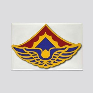 Army - 123rd Aviation Battalion Rectangle Magnet