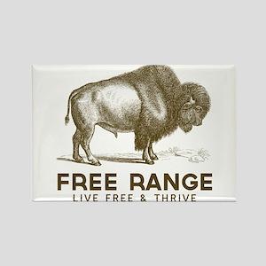 Free Range Rectangle Magnet