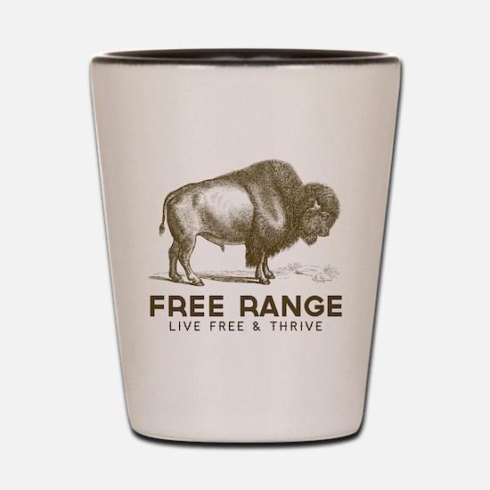 Free Range Shot Glass
