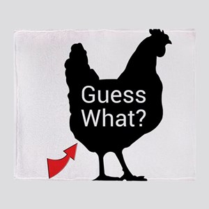 Guess What? Throw Blanket