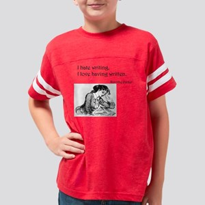 Love/Hate Relationship Youth Football Shirt