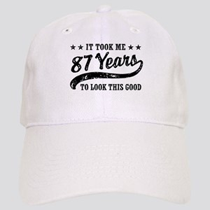 Funny 87th Birthday Cap